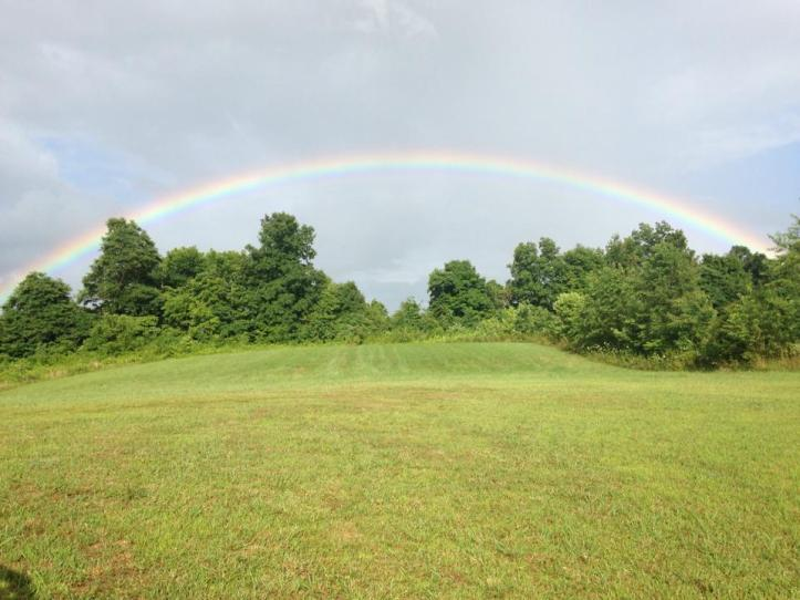 Great shot of a rainbow taken Sunday by Robin Fant Slagle in Cave City.